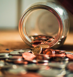 Financial planning Jar of Money